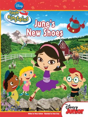 cover image of June's New Shoes