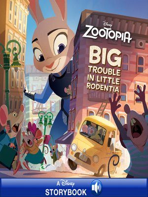 cover image of Big Trouble in Little Rodentia: A Disney Read-Along