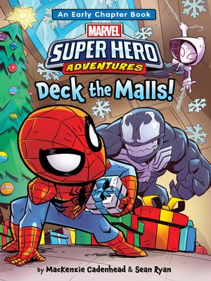 cover image of Spider-Man & Friends: Deck the Malls