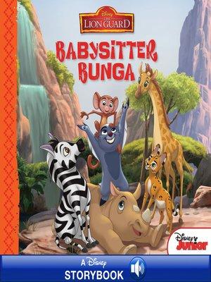 cover image of Babysitter Bunga