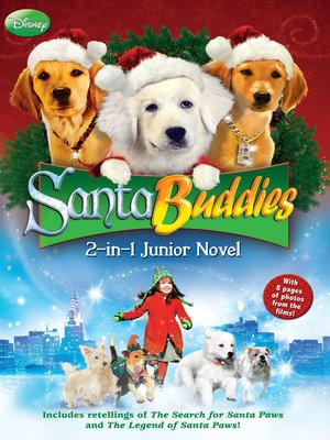 cover image of Santa Buddies The 2-in-1 Junior Novel