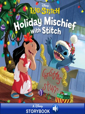 cover image of Holiday Mischief with Stitch