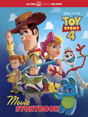 cover image of Toy Story 4 Movie Storybook