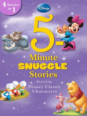 cover image of 5-Minute Snuggle Stories Starring Disney Classic Characters