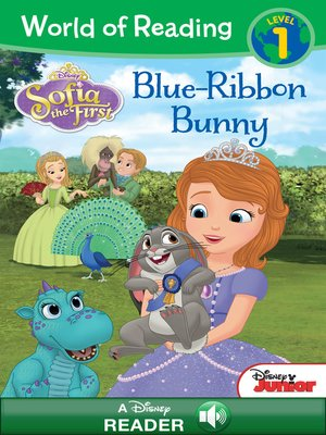 cover image of Blue Ribbon Bunny