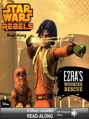 cover image of Ezra's Wookiee Rescue