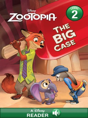 cover image of The Big Case: A Disney Read-Along (Level 2)