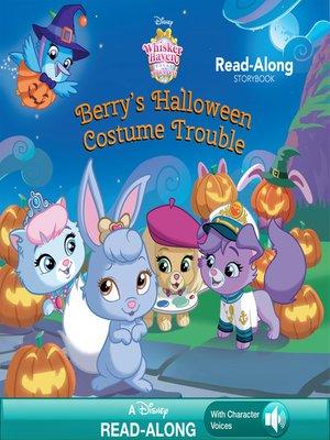 cover image of Berry's Halloween Costume Trouble