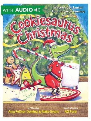 cover image of Cookiesaurus Christmas