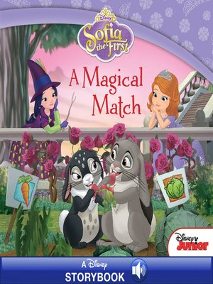 cover image of A Magical Match: A Disney Read-Along