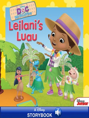 cover image of Leilani's Luau: A Disney Storybook with Audio