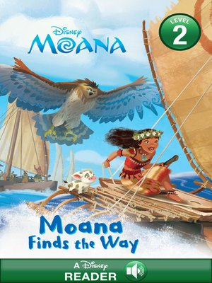 cover image of Moana Finds the Way
