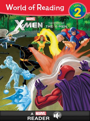 cover image of The Story of the X-Men