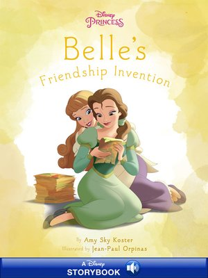 cover image of Belle's Inventor Friend
