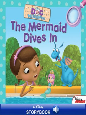 cover image of The Mermaid Dives In