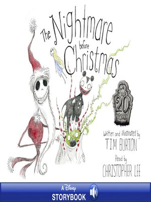 cover image of Tim Burton's the Nightmare Before Christmas