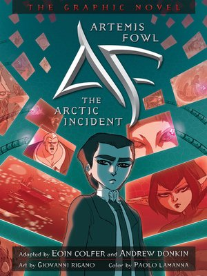 cover image of The Arctic Incident Graphic Novel
