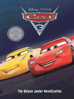 cover image of Cars 3 Junior Novel