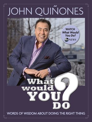 cover image of What Would You Do?