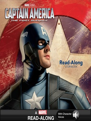 cover image of Captain America The First Avenger Read-Along Storybook