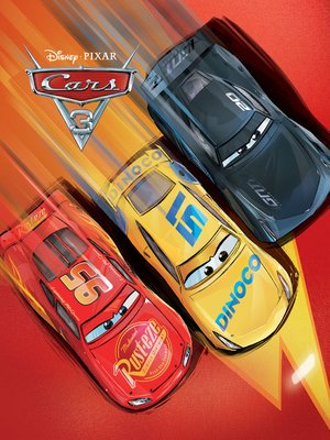 cover image of Cars 3 Movie Storybook