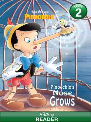 cover image of Pinocchio's Nose Grows