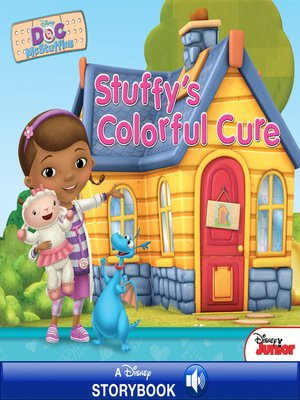 cover image of Stuffy's Colorful Cure