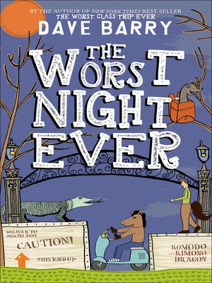 cover image of The Worst Night Ever