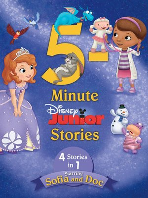 cover image of 5-Minute Disney Junior Stories Starring Sofia and Doc