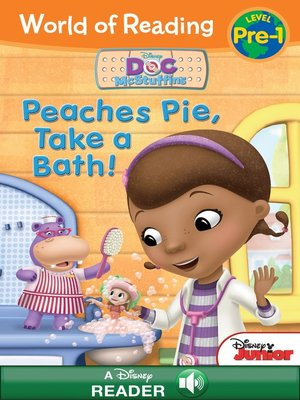 cover image of Peaches Pie, Take a Bath!