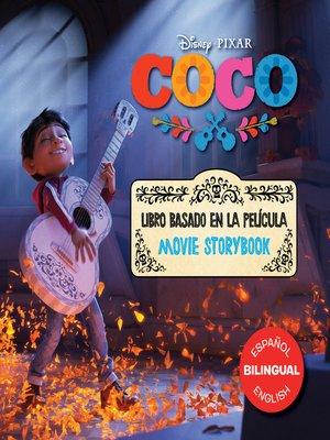 cover image of Coco Movie Storybook / Libro basado en la película