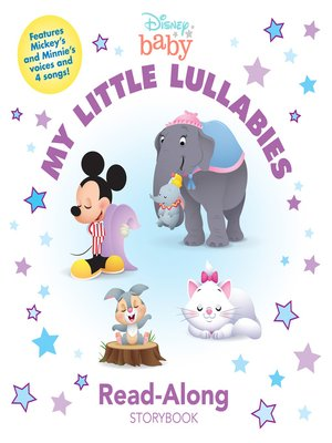 cover image of My Little Lullabies Read-Along Storybook