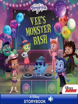 cover image of Vee''s Monster Bash