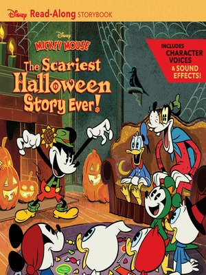 cover image of Disney Mickey Mouse Halloween Read-Along Storybook