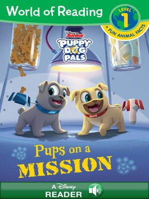 cover image of Pups on a Mission