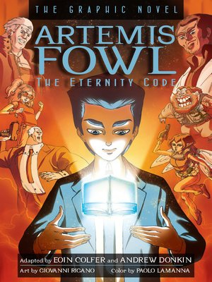 cover image of The Eternity Code Graphic Novel