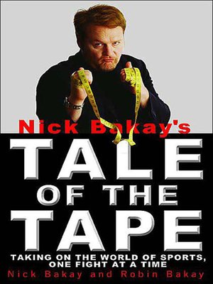 cover image of Nick Bakay's Tale of the Tape