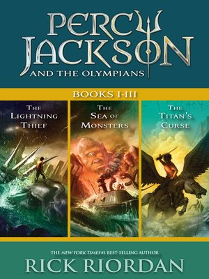 cover image of Percy Jackson and the Olympians, Books I-III