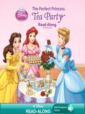 cover image of The Perfect Princess Tea Party Read-Along Storybook