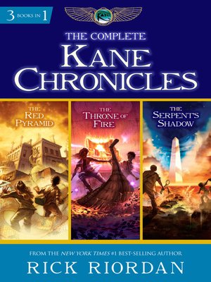 cover image of The Complete Kane Chronicles
