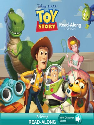 cover image of Toy Story Read-Along Storybook