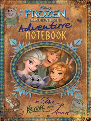 cover image of Northern Lights Adventure Notebook