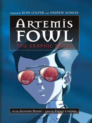 cover image of Artemis Fowl Graphic Novel