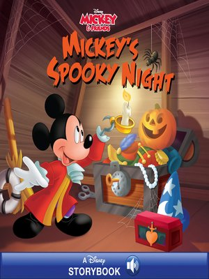 cover image of Mickey's Spooky Night