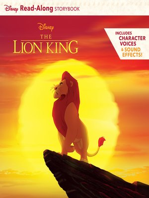 cover image of The Lion King Read-Along Storybook