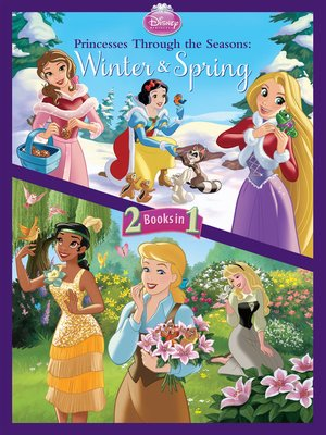 cover image of Princesses Through the Seasons