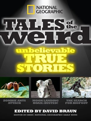 cover image of National Geographic Tales of the Weird