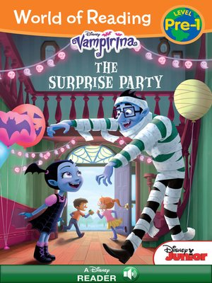 cover image of Vampirina: The Surprise Party