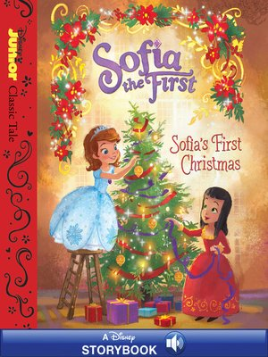 cover image of Sofia's First Christmas: A Disney Read-Along