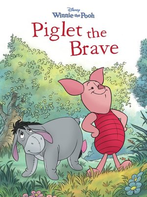 cover image of Piglet the Brave